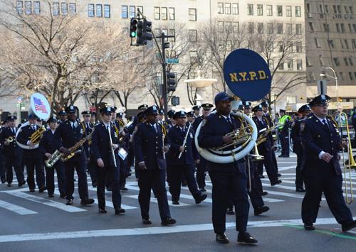 NYPD band