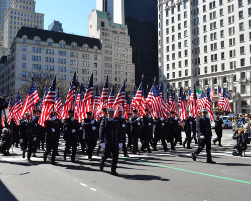 343 Firefighters flags