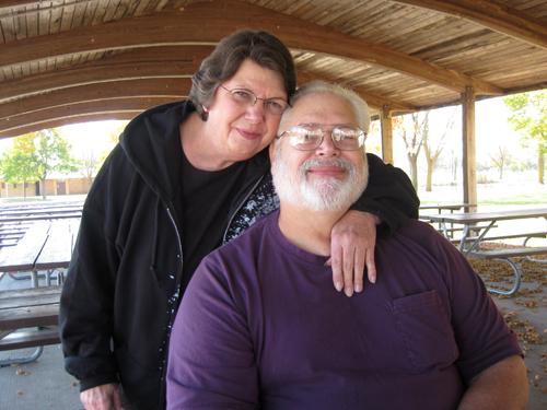 Mom & Dad at Lakeside pavillion