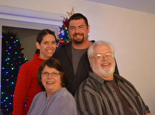 Mom & Dad & Kim & Kari
