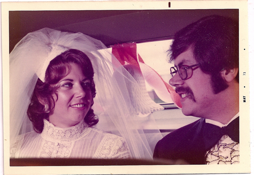 Sandy and Dana Phillips May 12, 1973