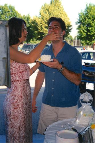 Mmmm ... cake!